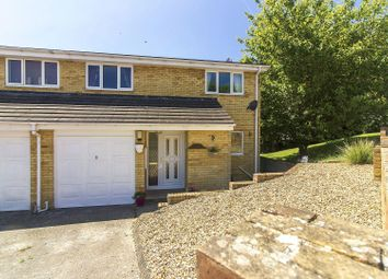 Thumbnail 4 bed semi-detached house for sale in Snowdrop Close, Folkestone