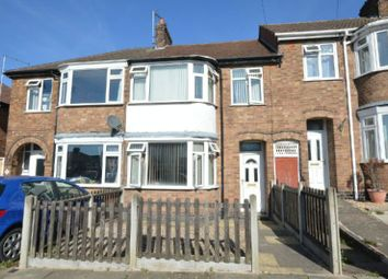 Thumbnail 3 bed terraced house for sale in Cheshire Road, Leicester