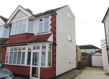 Thumbnail 4 bedroom semi-detached house for sale in Gander Green Lane, North Cheam, Sutton