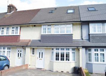 Thumbnail 4 bedroom terraced house for sale in Gubbins Lane, Harold Wood, Romford