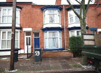 Thumbnail 3 bed terraced house to rent in Beaconsfield Road, West End, Leicester