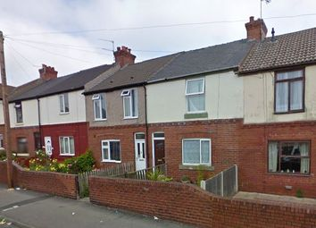 Thumbnail 3 bed terraced house to rent in Manor Road, Doncaster