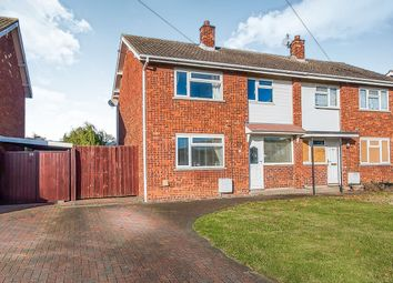 Thumbnail 3 bed semi-detached house for sale in Andrewes Close, Farcet, Peterborough