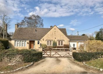 Thumbnail 3 bed detached bungalow for sale in Baunton Lane, Cirencester