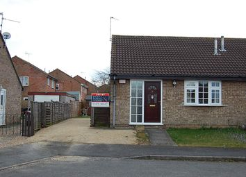 Thumbnail 2 bed semi-detached bungalow to rent in First Avenue, Grantham