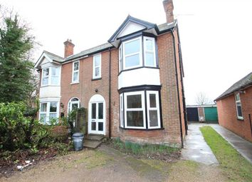 Thumbnail 4 bed semi-detached house for sale in Woodside, Felixstowe Road, Nacton, Ipswich