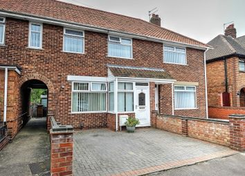 Thumbnail 3 bed terraced house for sale in Elm Avenue, Great Yarmouth