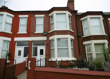 Thumbnail 4 bed terraced house for sale in St Vincent Road, Wallasey, Wirral
