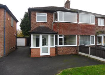 Thumbnail 3 bed property to rent in Foxcote Drive, Shirley, Solihull