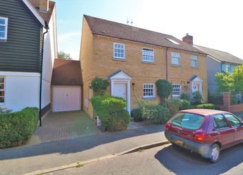 Old Ferry Road, Wivenhoe, Colchester CO7. 3 bed semi-detached house