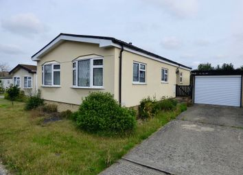 Thumbnail 2 bed mobile/park home for sale in The High Pines, Parkers Lane, Warfield, Bracknell