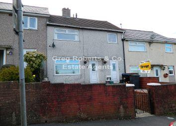 Thumbnail 3 bed terraced house for sale in Heol Yr Ysgol, Ebbw Vale, Blaenau Gwent.