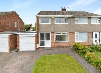 Thumbnail 3 bed semi-detached house for sale in Greenfield Drive, Eaglescliffe, Stockton-On-Tees, Durham