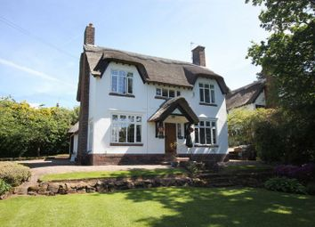 Thumbnail 3 bed detached house for sale in Farr Hall Drive, Lower Heswall, Wirral