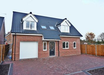Thumbnail 4 bed detached house for sale in Church Road, Earsham, Bungay