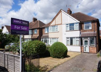 Thumbnail 3 bed semi-detached house for sale in Heathcote Road, Leamington Spa