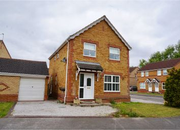 Thumbnail 4 bed detached house for sale in Baker Crescent, Lincoln