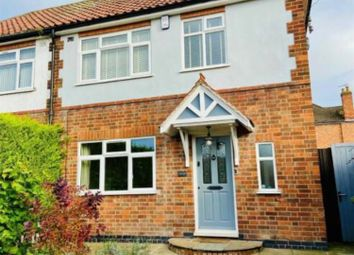 Thumbnail 3 bed semi-detached house to rent in Station Road, Thurnby