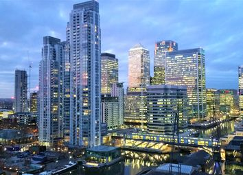 Thumbnail 2 bed flat for sale in Arena Tower/ Baltimore Tower, Canary Wharf, London