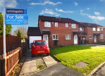 Thumbnail 2 bedroom semi-detached house for sale in Lea Park Vale, Leeds, West Yorkshire