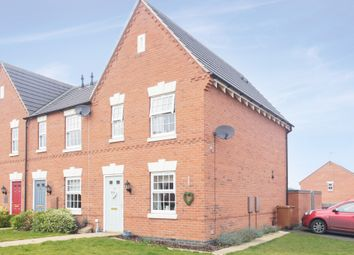 Thumbnail 3 bed town house for sale in Glengarry Way, Greylees, Sleaford