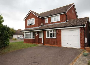 Thumbnail 4 bed detached house for sale in Fletchers Lane, Grange Farm, Kesgrave, Ipswich
