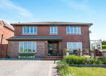 Thumbnail 4 bed detached house for sale in Longhill Road, Ovingdean, Brighton