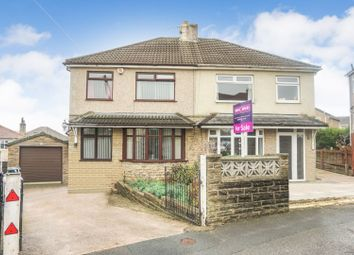 Thumbnail 3 bed semi-detached house for sale in Farfield Crescent, Bradford
