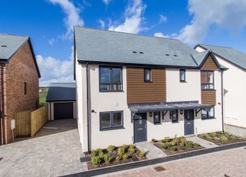 Thumbnail 3 bed semi-detached house for sale in Cheriton Fitzpaine, Crediton