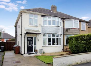 Thumbnail 3 bed semi-detached house for sale in Lulworth Crescent, Whitkirk, Leeds