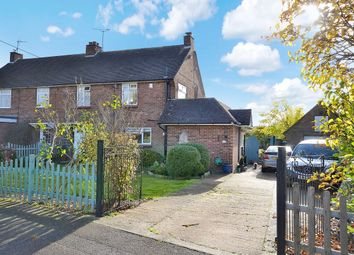 Thumbnail 4 bed semi-detached house for sale in Ravens Crescent, Felsted, Dunmow