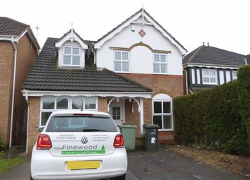 Thumbnail 4 bed detached house to rent in Parkhouse Close, Chesterfield, Derbyshire