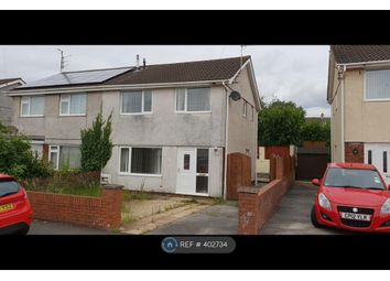 Thumbnail 3 bed semi-detached house to rent in Ridgewood Park, Llanelli