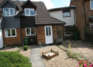 Thumbnail 2 bed terraced house for sale in Caernarvon Close, Mountsorrel, Loughborough