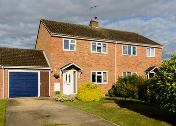 Thumbnail 3 bed semi-detached house for sale in Wheats Close, Witchford, Ely