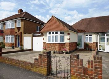 Thumbnail 2 bedroom semi-detached bungalow for sale in Rhodrons Avenue, Chessington