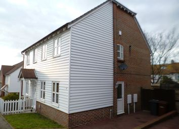 Thumbnail 2 bed end terrace house to rent in Carpenters Close, Rochester