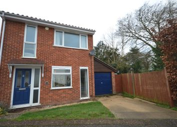 Thumbnail 4 bed link-detached house for sale in Rookery Close, Great Chesterford, Saffron Walden