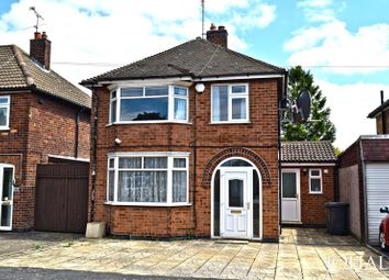 Thumbnail 3 bed detached house to rent in Moorgate Avenue, Birstall, Leicester
