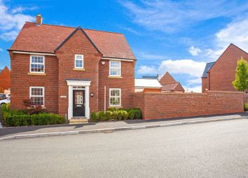 Thumbnail 4 bed detached house for sale in Bobbins Way, Buckingham