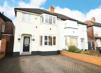 Thumbnail 3 bed semi-detached house for sale in Sandgate Road, Hall Green, Birmingham