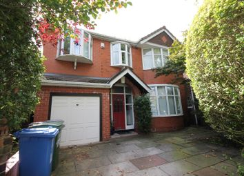 Thumbnail 4 bed detached house to rent in Canterbury Road, Urmston, Manchester