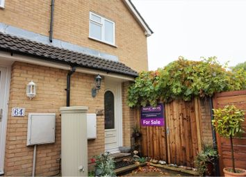 Thumbnail 1 bed terraced house for sale in Coxmoor Close, Fleet