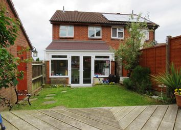 Thumbnail 3 bed semi-detached house for sale in Sanderling Close, Letchworth Garden City