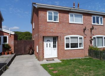 Thumbnail 3 bed semi-detached house to rent in Westward Place, Bridgend