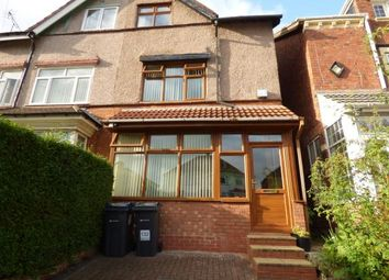 Thumbnail 4 bedroom semi-detached house for sale in Manor Road, Stechford, Birmingham, West Midlands