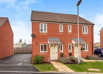 Thumbnail 2 bed semi-detached house for sale in Brambles Walk, Wellington, Telford