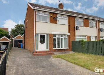 Thumbnail 3 bed semi-detached house for sale in Abbeydale Avenue, Newtownards