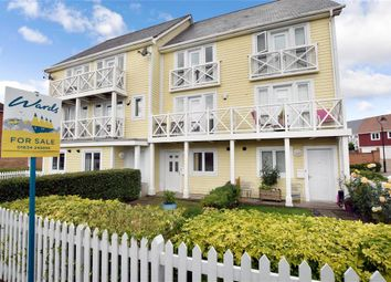 Thumbnail 3 bed town house for sale in Poynder Drive, Holborough Lakes, Kent