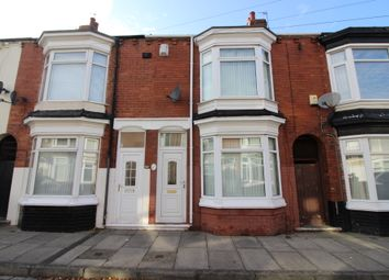 Thumbnail 3 bed terraced house for sale in Berner Street, Middlesbrough
